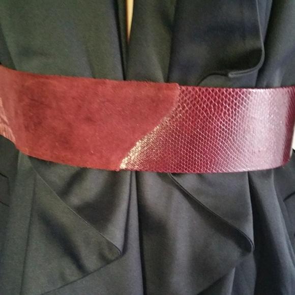 Vintage Accessories - Vintage Cumberbund Belt